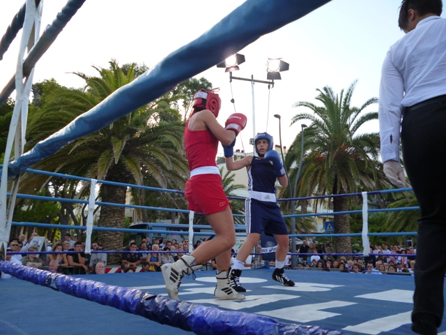 XI Italian Womens Boxing Championship Finals Mathces Roseto 2012 92
